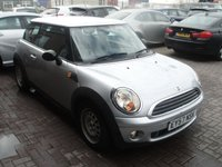 2007 MINI HATCH ONE 1.4 ONE 3d 94 BHP £3980.00