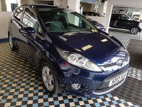 USED 2012 12 FORD FIESTA 1.2 ZETEC 5d 81 BHP Low Mileage Fiesta