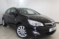 USED 2012 12 VAUXHALL ASTRA 1.7 ACTIVE CDTI 5DR 108 BHP SERVICE HISTORY + HALF LEATHER SEATS + BLUETOOTH + CRUISE CONTROL + MULTI FUNCTION WHEEL + AIR CONDITIONING + 17 INCH ALLOY WHEELS
