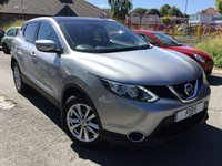 USED 2015 15 NISSAN QASHQAI 1.5 DCI ACENTA PLUS 5d 108BHP NEWSHAPE 1OWNER+2KEYS+FSH+SATNAV+CAMERA+
