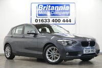 2014 BMW 1 SERIES 1.6 116D DIESEL EFFICIENTDYNAMICS 5 DOOR NAVIGATION PACK £9990.00