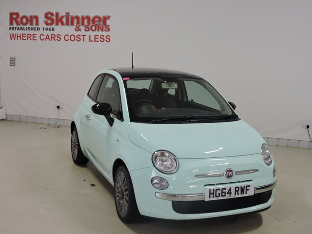 View our 2015 64 FIAT 500 (80)    1.2 CULT 3d 69 BHP