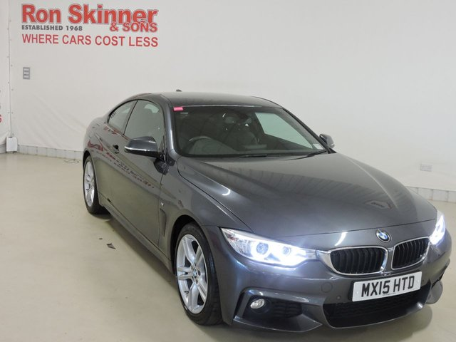 View our 2015 15 BMW 4 SERIES 2.0 420D M SPORT 2d AUTO 181 BHP