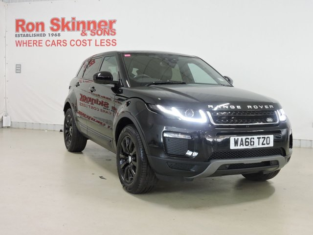 View our 2016 66 LAND ROVER RANGE ROVER EVOQUE 2.0 ED4 SE TECH 5d 148 BHP