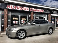 USED 2009 09 BMW 5 SERIES 3.0 525D 4d 195 BHP