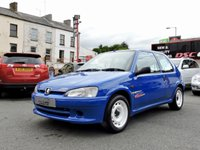 1998 PEUGEOT 106 1.6 RALLYE 102 BHP (1 OF 500 PRODUCED) £8950.00