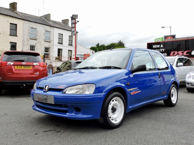 1998 R PEUGEOT 106 1.6 RALLYE 102 BHP (1 OF 500 PRODUCED)