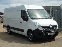 2015 RENAULT MASTER 2.3DCi  MML35 BUSINESS 125 BHP £9650.00