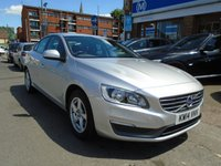 2014 VOLVO S60 1.6 D2 BUSINESS EDITION 4d AUTO 113 BHP £8194.00