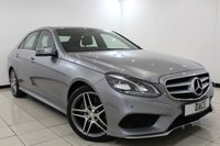 USED 2014 14 MERCEDES-BENZ E CLASS 3.0 E350 BLUETEC AMG SPORT 4DR AUTOMATIC 249 BHP SAT NAV Bluetooth MERCEDES SERVICE HISTORY + HEATED LEATHER SEATS + SAT NAVIGATION + PARKING SENSOR + BLUETOOTH + CRUISE CONTROL + CLIMATE CONTROL + DAB RADIO + MULTI FUNCTION WHEEL + 18 INCH ALLOY WHEELS