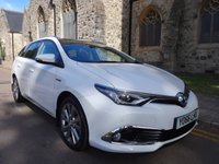 USED 2016 66 TOYOTA AURIS 1.8 VVT-I EXCEL TOURING SPORTS 5d AUTO 99 BHP + ONE OWNER + SAT NAV + LOW MILEAGE +