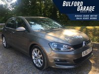USED 2013 62 VOLKSWAGEN GOLF 2.0 GT TDI BLUEMOTION TECHNOLOGY 5d 148 BHP