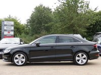 USED 2015 64 AUDI A3 2.0 TDI SPORT 4d AUTO 148 BHP AUTOMATIC, 3 MONTHS AA WARRANTY INCLUDED