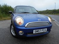 USED 2007 57 MINI HATCH ONE 1.4 ONE 3d 94 BHP      ** ALLOYS , AIRCON, 6 SPEED **