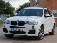 2015 BMW X3 2.0 XDRIVE20D M SPORT 5d AUTO 188 BHP £22499.00