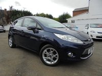 USED 2012 12 FORD FIESTA 1.2 ZETEC 5d 81 BHP ***1 OWNER FROM NEW***