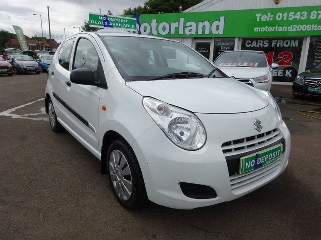 USED 2013 63 SUZUKI ALTO 1.0 SZ 5d 68 BHP 1 PRIVATE OWNED CAR FROM NEW....FULL STAMPED SERVICE HISTORY....VERY LOW MILEAGE