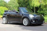 2012 MINI CONVERTIBLE 1.6 COOPER 2d AUTO 122 BHP