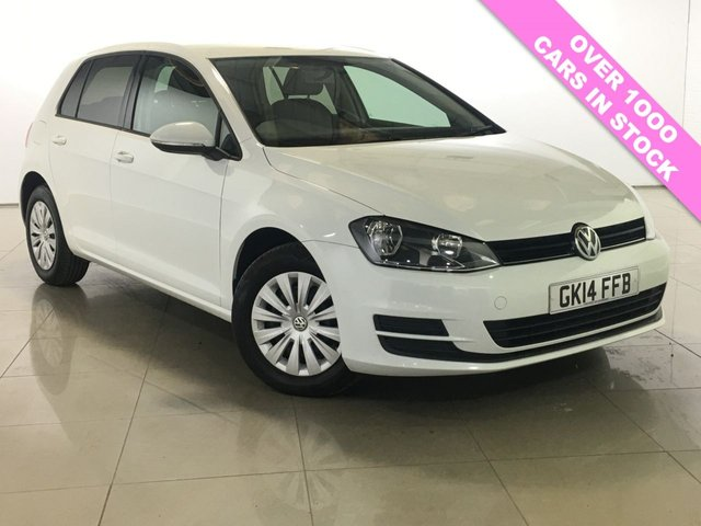 View our 2014 14 VOLKSWAGEN GOLF 1.6 S TDI BLUEMOTION TECHNOLOGY 5d 103 BHP