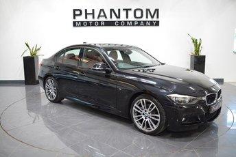 2013 BMW 3 SERIES 2.0 320D M SPORT 4d AUTO 181 BHP £14790.00