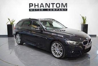 2015 BMW 3 SERIES 2.0 320D M SPORT TOURING 5d AUTO 181 BHP £18190.00