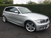USED 2009 59 BMW 1 SERIES 2.0 120D M SPORT 3d 175 BHP, IDEAL SIZE FAMILY CAR AND VERY ECONOMICAL