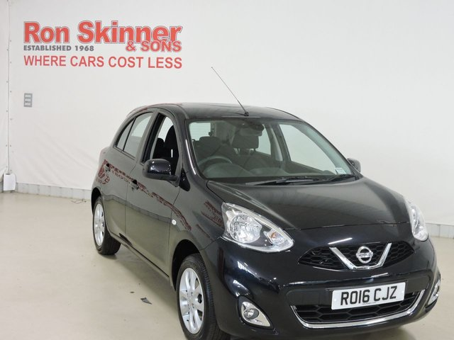 View our 2016 16 NISSAN MICRA 1.2 ACENTA 5d 79 BHP
