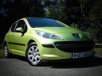 2007 PEUGEOT 207 1.4 S 3d  £1995.00