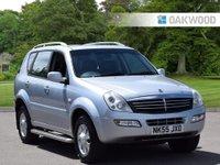 2005 SSANGYONG REXTON 2.7 RX 270 SE 5 TD 5d AUTO 163 BHP £2495.00