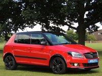 2011 SKODA FABIA 1.2 MONTE CARLO 12V 5d 68 BHP £4999.00