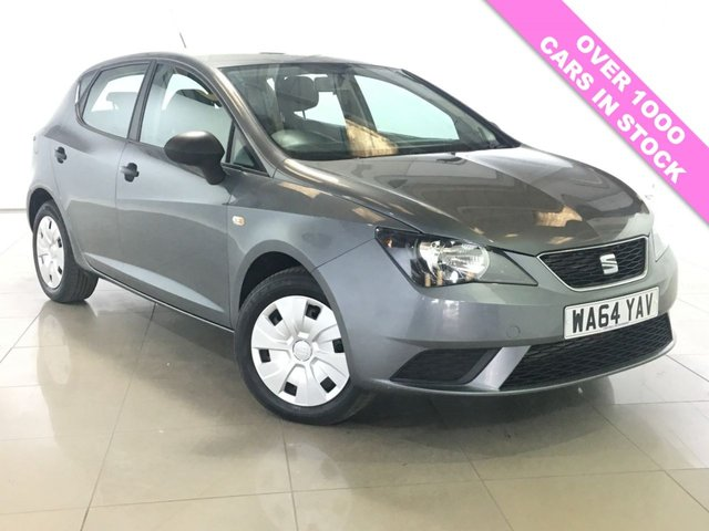 View our 2014 64 SEAT IBIZA 1.2 CR TDI S 5d 74 BHP