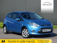 USED 2009 09 FORD FIESTA 1.2 ZETEC 3d 81 BHP AIR CON, BLUETOOTH, ALLOYS