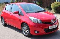 2014 TOYOTA YARIS 1.3 VVT-I ICON PLUS 5d AUTO 99 BHP £8995.00
