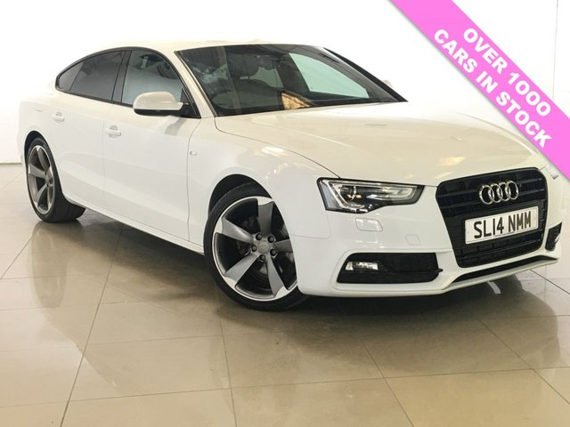 View our 2014 14 AUDI A5 1.8 SPORTBACK TFSI S LINE BLACK EDITION 5d 168 BHP
