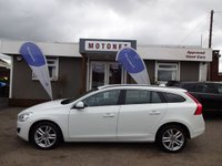 USED 2012 62 VOLVO V60 2.0 D4 SE 5DR DIESEL  AUTOMATIC  161 BHP ++++BUY NOW PAY NEXT JANUARY 2019++