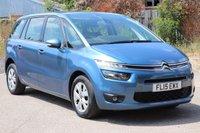 2015 CITROEN C4 GRAND PICASSO 1.6 E-HDI VTR PLUS ETG6 5d AUTO 113 BHP £10495.00