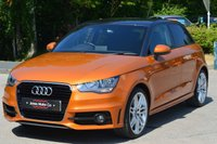 USED 2013 63 AUDI A1 1.4 SPORTBACK TFSI S LINE 5d 125 BHP 8.9 APR FINANCE DEAL ON THIS CAR