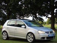 2005 VOLKSWAGEN GOLF 2.0 TDI GT 4MOTION 5d 138 BHP £1999.00