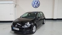 USED 2015 64 VOLKSWAGEN GOLF 1.6 MATCH TDI BLUEMOTION TECHNOLOGY DSG 5d AUTO 103 BHP 1 Owner / Vw Service History /Sat-Nav/Bluetooth/£20 tax