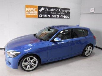 2012 BMW 1 SERIES 2.0 116D M SPORT 5d 114 BHP £11000.00
