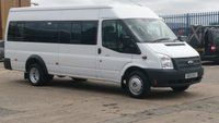 2012 FORD TRANSIT 2.2 430 SHR BUS 17 STR 1d 134 BHP 1 OWNER F/S/H LOW MILES / TACO /  // FREE 12 MONTHS WARRANTY COVER /// £7790.00