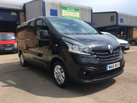 2016 RENAULT TRAFIC 1.6 SL27 SPORT DCI S/R P/V 1d 115 BHP £12500.00