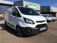 2015 FORD TRANSIT CUSTOM 2.2 290 LR P/V 1d 124 BHP £10295.00