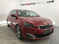 2015 PEUGEOT 308 2.0 BLUE HDI S/S ALLURE 5d AUTO 150 BHP £9899.00
