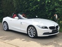 2011 BMW Z4 Z4 ROADSTER 2.3i SDrive HIGHLINE EDITION Coral Red Leather £13495.00