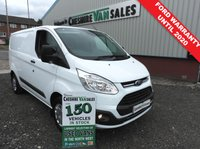 USED 2017 17 FORD TRANSIT CUSTOM 2.0 290 TREND 105 BHP 1 OWNER FROM NEW LOW MILES 1 OWNER FROM NEW LOW MILES