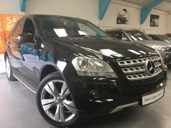 2011 MERCEDES-BENZ M CLASS 3.0 ML300 CDI BLUEEFFICIENCY SPORT 5d AUTO 204 BHP £13990.00