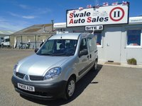 2008 RENAULT KANGOO 1.1 AUTHENTIQUE 16V 75 BHP DISABILITY ACCESS £4495.00