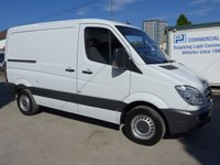 2012 MERCEDES-BENZ SPRINTER 313 CDI SWB LOW ROOF, 130 BHP [EURO 5], 1 COMPANY OWNER £10995.00