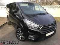 USED 2018 18 FORD TRANSIT CUSTOM 300 2.0 170 BHP LIMITED CREWCAB FULLY LOADED **OVER 90 VANS IN STOCK**
